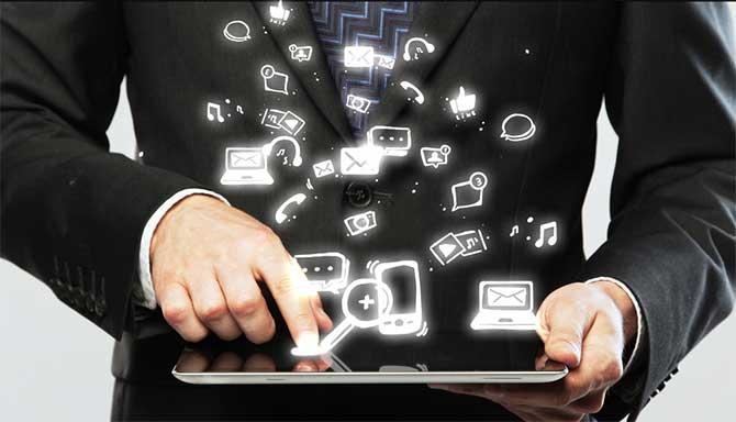 Types of media in the digital era