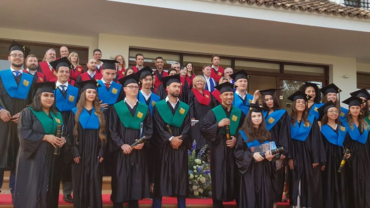 Marbella International University Centre Commencement Ceremony 2019